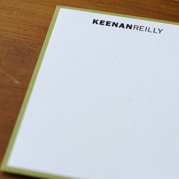 Personalized Papers Executive Stationery: Personalized Stationery