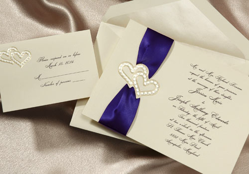 Modern Wedding Invitation Cards for awesome invitation sample